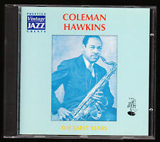 COLEMAN HAWKINS - THE EARLY YEARS - 16 TRACKS REMASTERED (1995) - CD ALBUM, NEW