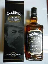 ★★★ Jack Daniels master distiller 1 Paper Seal box nuevo ★★★ Limited Edition One
