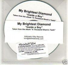 (A221) My Brightest Diamond, Inside A Boy - DJ CD