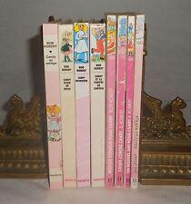 Lot de 9 Candy Bob Robert de 1982 à 1992 Bibliotheque Rose Antenne 2