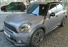 Mini Black out De-chrome beltline tape Countryman. Cooper, JCW, GP