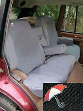 LAND ROVER DISCOVERY 2 1998-2004 REAR SEAT WATERPROOF SEAT COVERS SET - BLACK