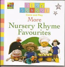 PLAY SCHOOL Come and Play MORE NURSERY RHYME FAVOURITES Kid Reading Picture book