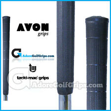 Avon Tacki-Mac Arthritic Serrated Golf Grips - Black  x 1
