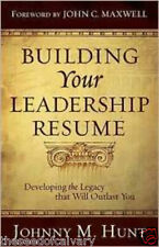 Building Your Leadership Resume  BRAND NEW!!!