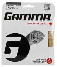 Gamma Live Wire XP 1.27 mm 17 Tennis Stringhe Set