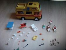 PLAYMOBIL CAMPING CAR FAMILLE