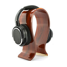 Acrylic Gaming Earphone Stand Holder Headset Hanger Headphone Desk Display Rack
