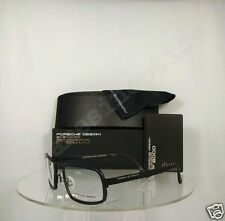 New Authentic Porsche Design P 8220 A Eyeglasses Titanium P'8220 Matte Black