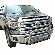 2007-2016 TOYOTA TUNDRA 3' Stainless steel Bull bar chrome with Skid plate bumpe