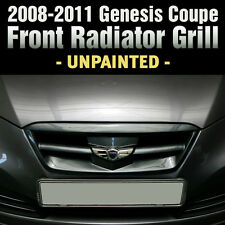 Wing Emblem Hood Radiator Grille Unpainted for HYUNDAI 2009-2012 Genesis Coupe
