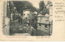ANNO 1901 BAGNI DELLA PORRETTA PARMA STABILIMENTO DELLE DONZELLE E DEL LEONE