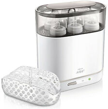 Philips AVENT BOTTLE STERILIZER, Electric Steam Adjustable Size BABY STERILIZER