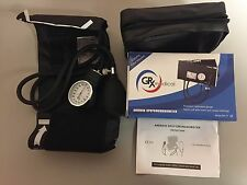 GRX Aneroid Sphygmomanometer - Manual Blood Pressure Cuff - New - On Sale!