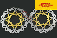 Front  Brake Disc Rotor For Suzuki GSXR600 750 06-07 M180 06-09 GSXR1000 05-08V