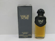 MAGIE NOIR by LANCOME 1.7 oz 50ml EDT SPRAY VINTAGE ORIGINAL FORMULA NEW