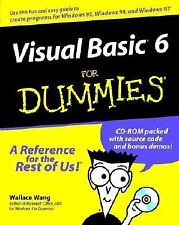 Visual Basic 6 for Dummies by Wallace Wang (1998, Paperback)