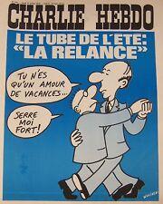 CHARLIE HEBDO No 246 JUILLET 1975 WOLINSKI LE TUBE DE L ETE LA RELANCE