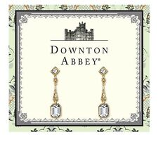 Downton Abbey Gold Tone & Crystal Earrings 17692 Free Shipping