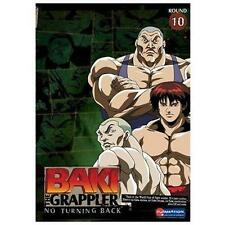 Baki the Grappler Volume 10 No Turning Back  DVD NEW Usually ships in 12 hours!!