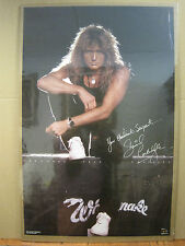 vintage Whitesnake David Coverdale Rock and roll  1988 Vintage Poster 3322