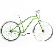 Chill Vélos Vogue Fixie Vitesse simple Vélo Vélo de ville Vert B-WARE