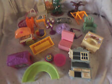 "Doll House 3"" Table Chairs Sink Mirror Furniture  Misc. Parts Toys"