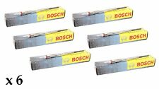 6 x BOSCH DIESEL HEATER GLOW PLUGS for BMW E90 E91 E92 325 D 325D 2006-2010