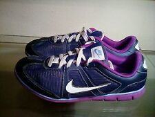EUC Nike Oceania NM 443937 401 Navy Blue/Purple Athletic Shoes Women's Size 7.5