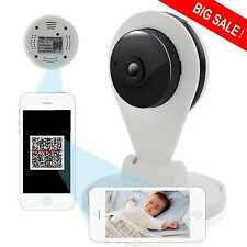 Wireless Baby Monitor Security Camera 720P HD WiFi Topcam IR 30ft Night Vision