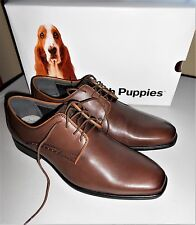 NWT Hush Puppies Kane Maddow Men's Genuine Leather Dress Shoes Size 9W