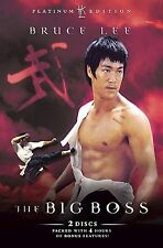 THE BIG BOSS DVD PLATINUM EDITION Bruce Lee Brand New and Sealed UK Release
