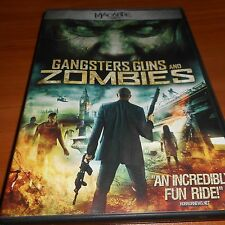 Gangsters, Guns and Zombies (DVD, Widescreen 2012) Used Fabrizio Santino