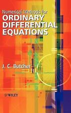 Numerical Methods for Ordinary Differential Equations by J. C. Butcher (2003,...