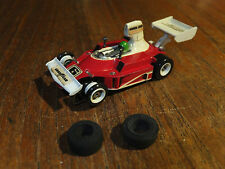 LOVELY Aurora Ferrari F1, SUPERB G-plus chassis AFX car ho nice Tomy tyco