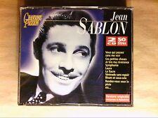 BOITIER 2 CD / JEAN SABLON / 50 TITRES / EXCELLENT ETAT