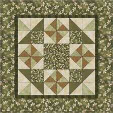 Quilters Patchwork PRE-CUT Kit Wall/Table Runner w/Designer Fabrics&Free Pattern