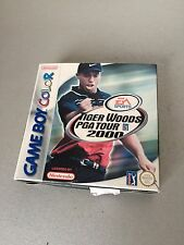 VINTAGE#TIGER WOODS PGA TOUR 2000 NINTENDO GAME BOY COLOR PAL VERSION#NIB