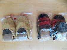 Lot of 2 Pairs of Vintage Slippers/Slip-Ons, Size 7-7.5, Jet Lite Good Year