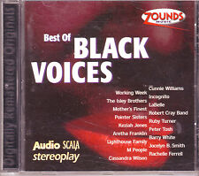 ZOUNDS - AUDIO SCALA STEREOPLAY - Best of Black Voices - rare audiophile CD 1998