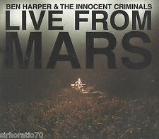 BEN HARPER & INNOCENT CRIMINALS Live From Mars 2 CD set - Digipak