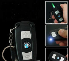 BMW Car Key LED lamp Windproof Gas Butane Cigarette Lighter Refillable L011
