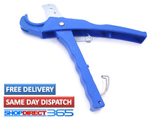 42mm Pipe Cutter Plumbing Tool PVC Nylon Air Water Tube Hose SK5 Blade 2420 Blue