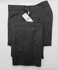 NEW Ralph Lauren RRL DOUBLE RL Medium Gray Flannel Wool Trouser Dress Pants 30