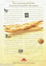 PUBLICITE ADVERTISING 096  1996  La Banette  pain baguette du boulanger