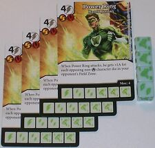 4 x POWER RING: HAROLD JORDAN 28 Green Arrow and The Flash Dice Masters