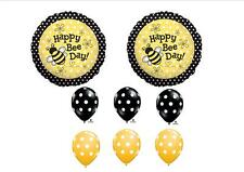 Bumble Bee Day Birthday Balloons Decorations Supplies Favors Girl Garden Flower