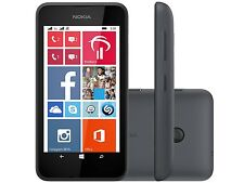 New Nokia Lumia 530 Dual Sim Black 4GB 3G Unlocked Windows Phone 1 Year Warranty