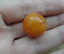 OLD ANTIQUE EGG GENUE PRESSED Round balls EGG YOLK BALTIC AMBER Beads 5 g.