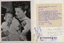 Katharine Hepburn. Fotografía. El 24 Enero 1947. Tamaño 20,50 x 15,50 Ctros.